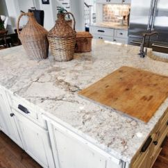 Granite Kitchen Counters Vinyl Decor And Tips Awesome White Countertops With