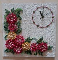 Quilled Wall Clock.   Paper Craft   Pinterest   Wall ...