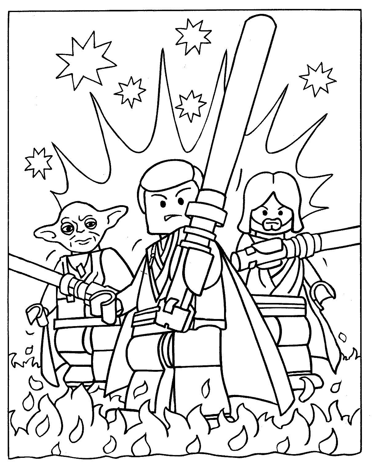 Lego Coloring Pages To Print