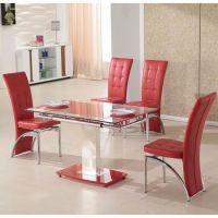 Red Dining Set - Dining room ideas