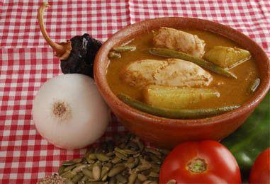 Recetas comida tpica Guatemalteca Pepian jocon y