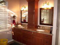 countertop linen storage in the bathroom | counter storage ...