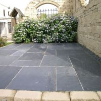 gray patio stone - Google Search | Gardens & Patios ...