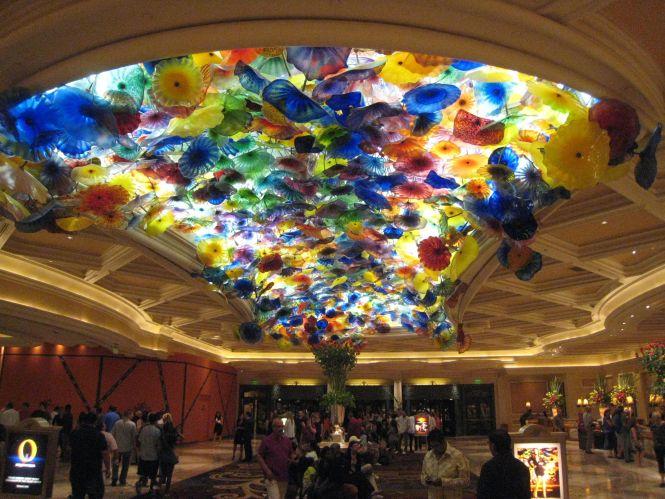 Bellagio Ceiling Las Vegas