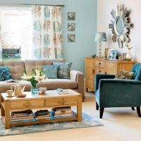 duck egg blue living rooms