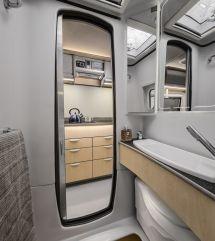 Camper Van Interiors with Bathroom