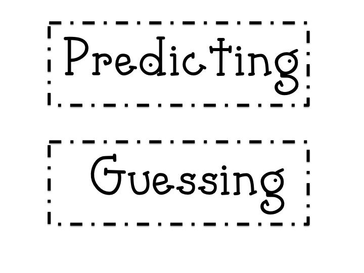 Great lesson for teaching making predictions