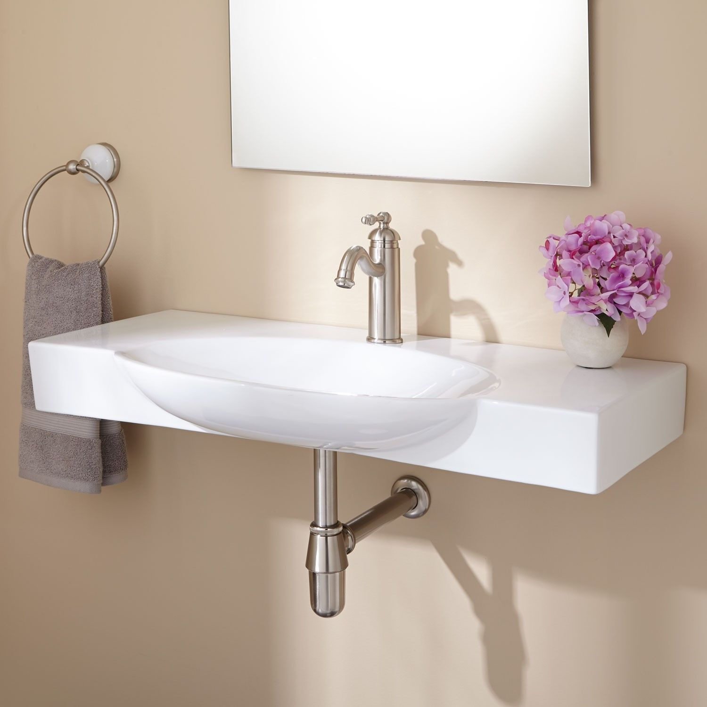 Hiott WallMount Bathroom Sink  Bathroom Sinks  Bathroom