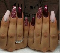 Gorgeous nails for November December Winter Nails - http ...