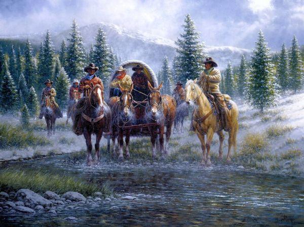 Jack Terry Western Art Paintings