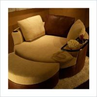 """Curved loveseat """"cuddle couch"""" - I'm kind of disgusted ..."""