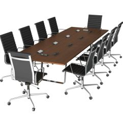 Conference Tables And Chairs Humanscale Freedom Chair Free 3d Model Table 3dsquirrel Co Uk
