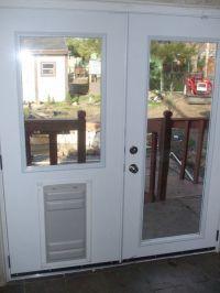 13 Breathtaking Doggie Doors For French Doors Design ...