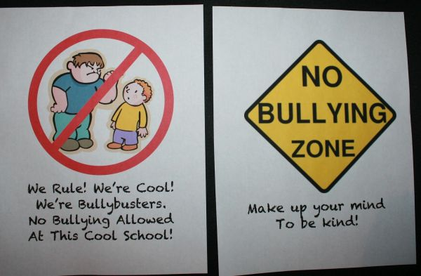 Stop Bullying Poster Ideas