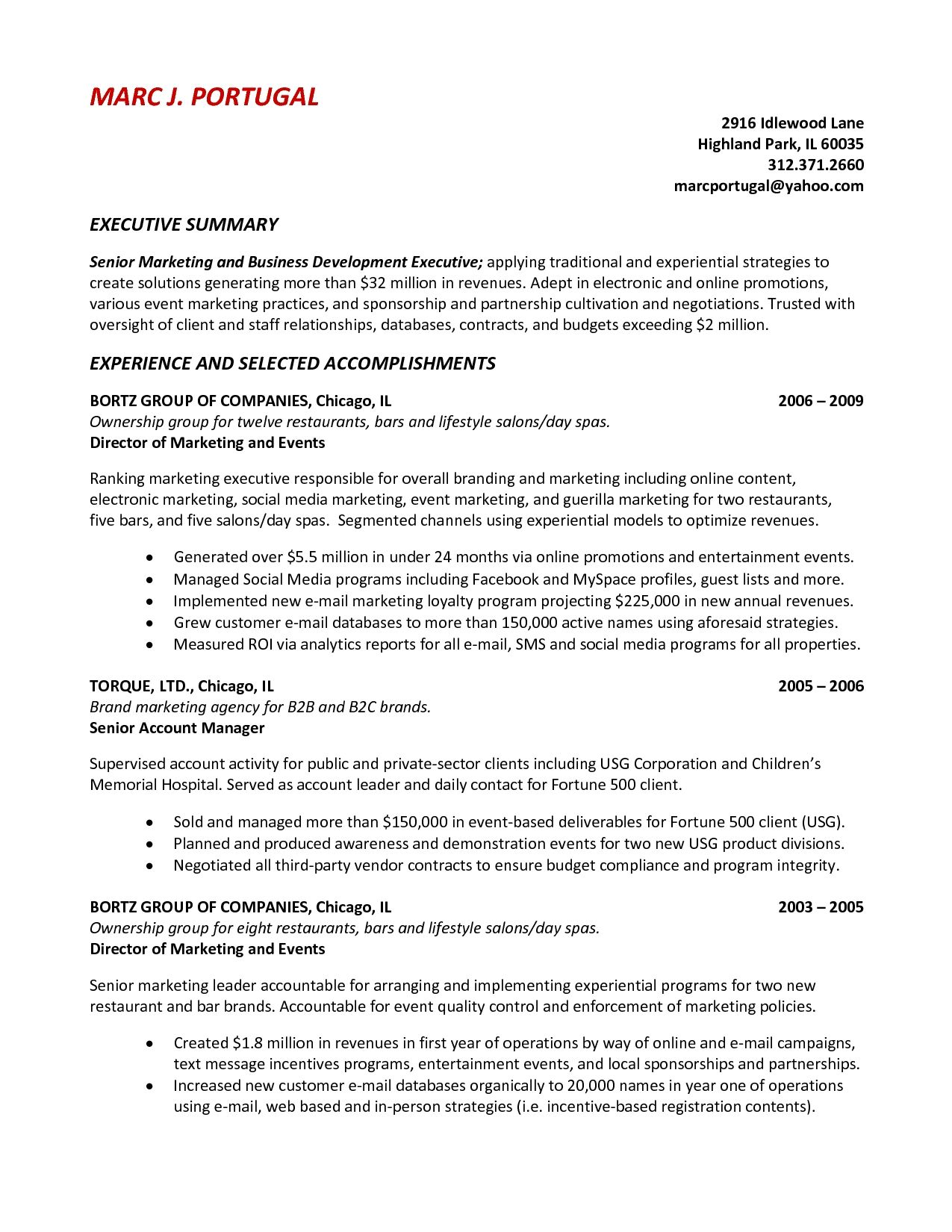 Summary On A Resumes Cerescoffee Co