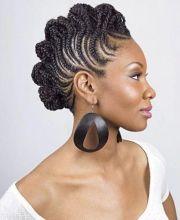 spiral corn roll braids - fitness
