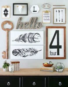 Gallery wall ideas to copy asap also feathers inspiration and rh za pinterest