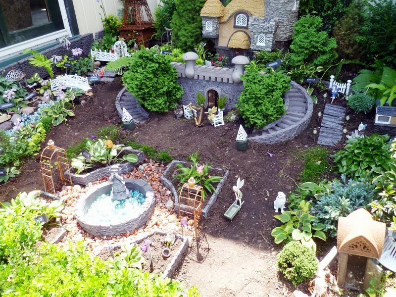 Designs For Mini Fairy Gardens The Appealing Photograph Above
