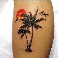 palmiye aac dvmesi palm tree tattoo | Aa Dvmeleri ...