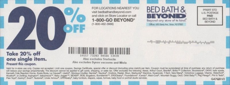 Bed bath and beyond coupon 20 off bed bath beyond