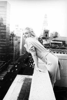 Marilyn Monroe In York City Ed Feingersh 1955