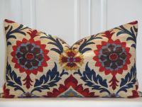 Decorative Pillow Cover - 14 x 24 - Suzani - Throw Pillow ...