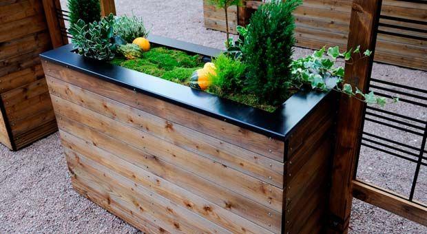 Metal Planters Homebase