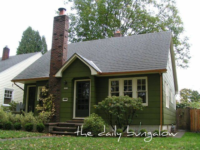 Exterior Color Schemes Green Paint Colors For The Historic Home