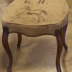 Antique Vanity Chair Chairs Wedding Poland 1939 French Stool Recovered In Authentic