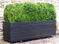 large plastic planter boxes - front yard landscaping ideas ...