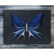 string art butterfly with acrylic