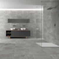concrete wall bathroom - Szukaj w Google | wnetrza ...