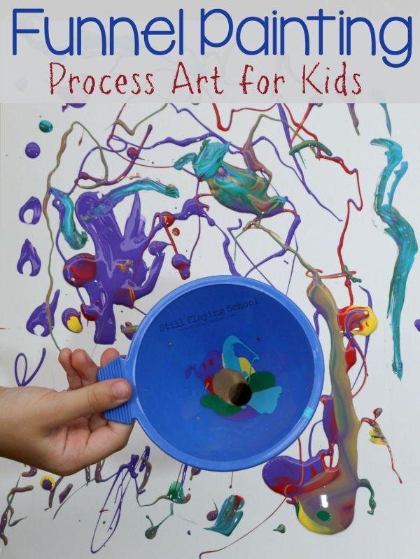 Toddler Process Art Activities