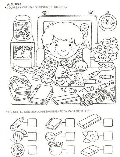 123 Manía actividades de matemática para imprimir