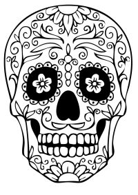 Day of the Dead: Have them realistically shade the skull ...
