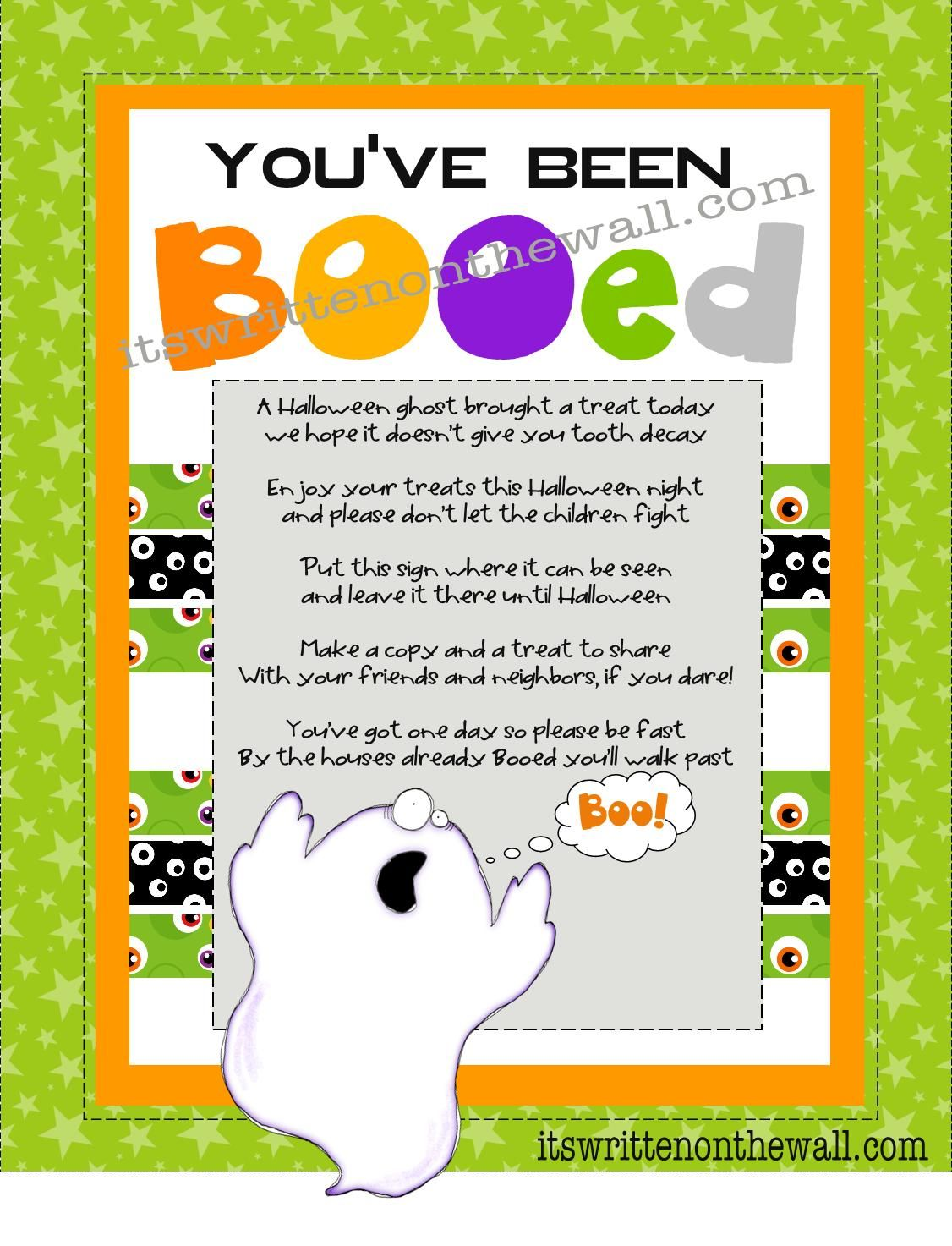 You Ve Been Booed Halloween Printables 5 Free Tags