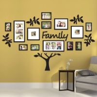 Family Tree Collage Picture Plaque Photo Wall Art Mount ...
