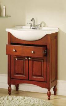 small narrow vanity favorite!! 26 inch single sink narrow depth
