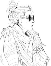 fashion coloring pages for adults - Google Search | Color ...