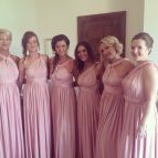 Bridesmaid Dresses Eliza And Ethan Pink Dress Two Birds