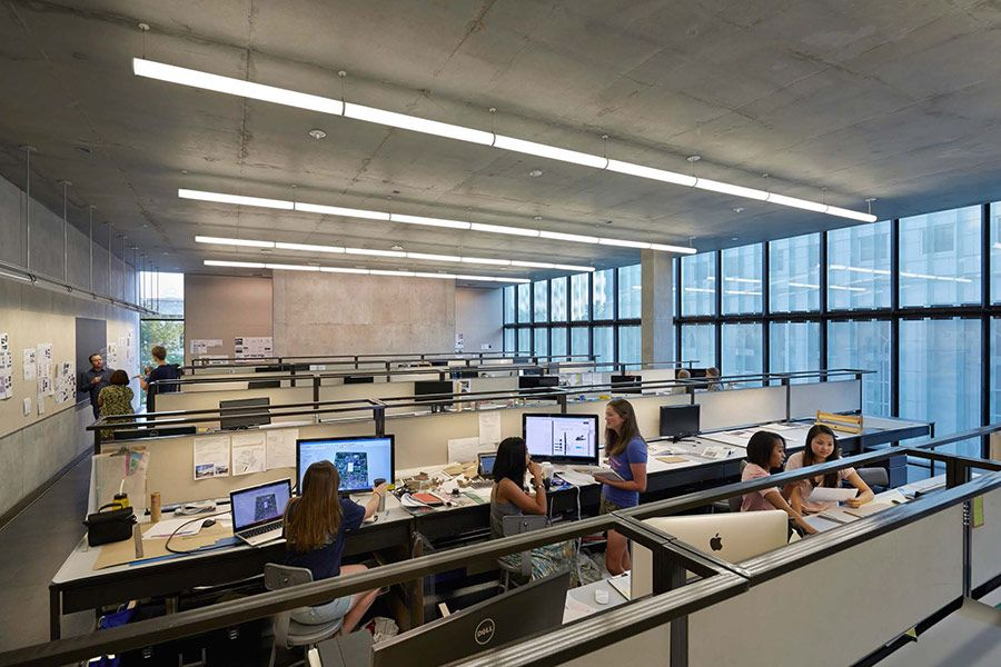 Industrial Style Call Center Interior Office Design Ideas