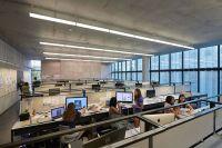 Industrial Style Call Center Interior Office Design Ideas ...