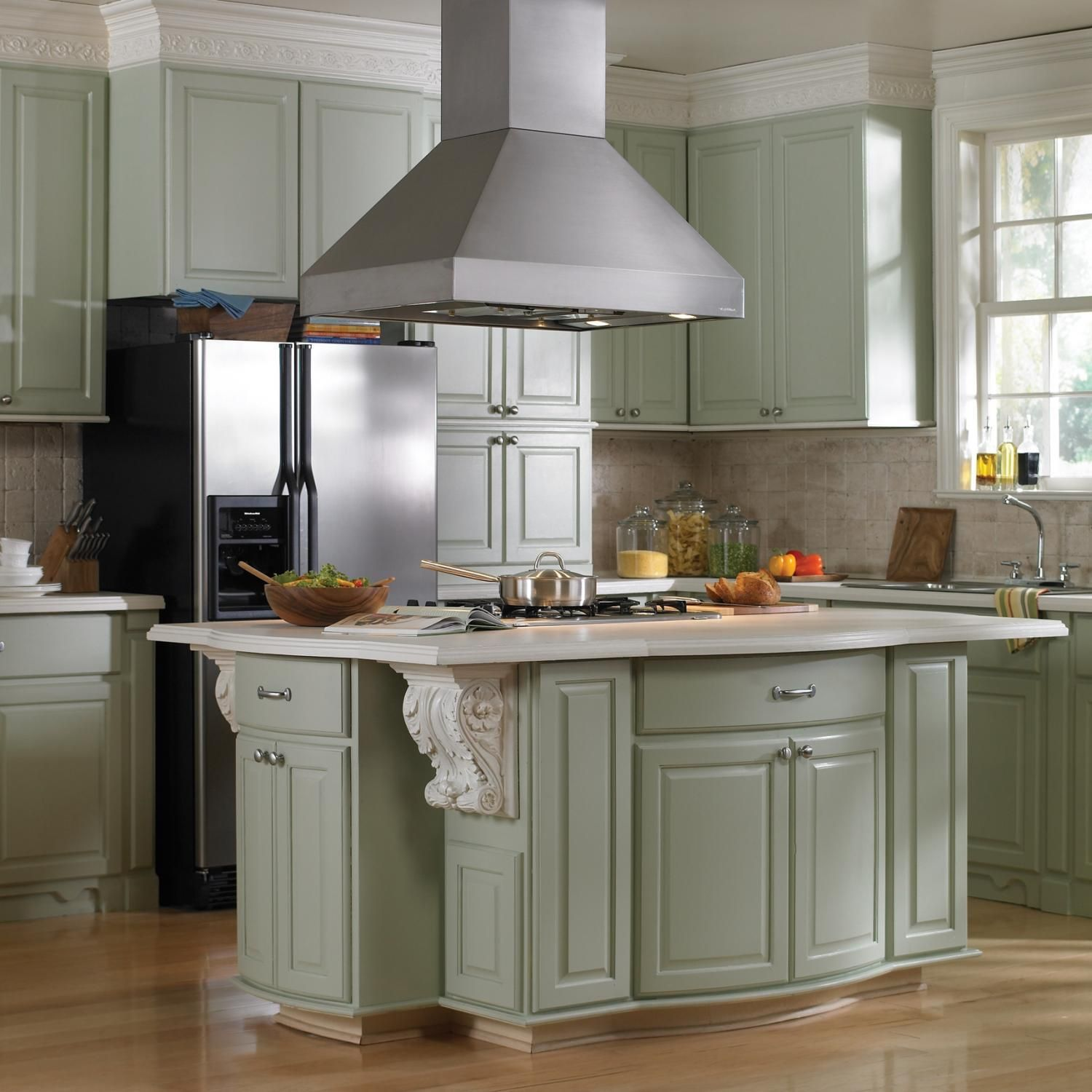 kitchen cabinets menards corner cabinet ceiling fabulous hanging range hood over small island