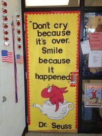 Dr. Seuss door decoration.   Classroom Door Decor ...