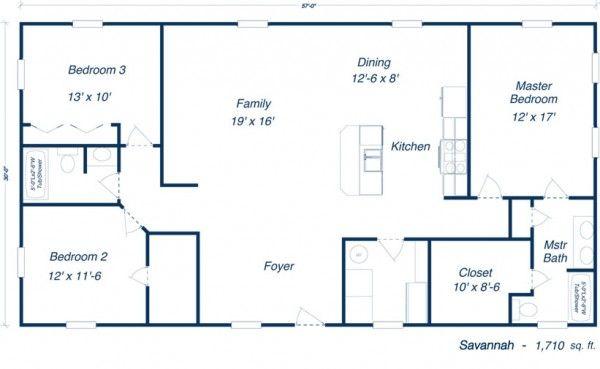 Floor Plan Of Craftsman European House Plan 82163 Description
