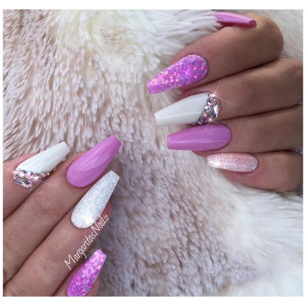 20 Lavender White Classy Nails Pictures And Ideas On Meta Networks