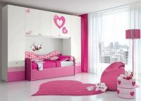 Small Room Ideas for Girls with Cute Color Bedroom Ideas