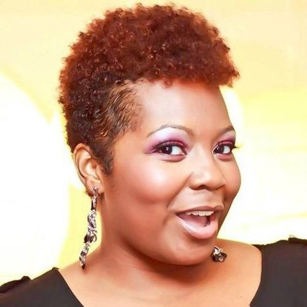 Short Natural Hairstyles For Black Women With Round Faces Hair