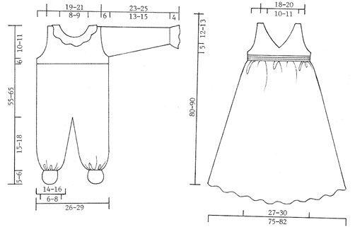 The set comprises: Christening gown, bonnet and jump suit