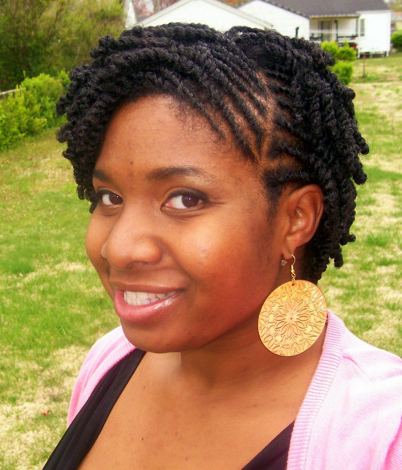 Natural Hairstyles For Work 15 Fab Looks Twists Flats And